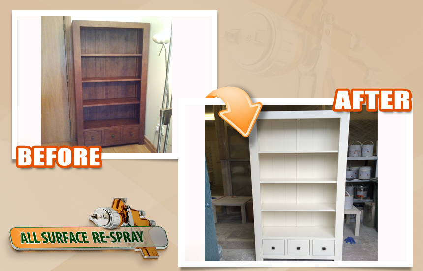 Furniture Respray bookshelf